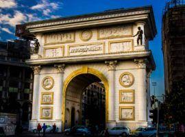 Porta Macedonia in Skopje | FinnsAway
