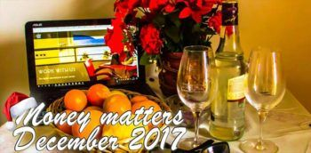 Money matters – December 2017 and yearly sum-up