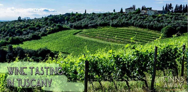 Chianti wine region in the heart of Tuscany is heaven for wine lovers. Visiting Colle Sorripa winery is a perfect day trip from Florence. | FinnsAway Nomad Travelers