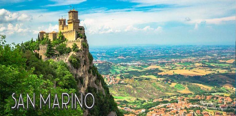 San Marino offers some great options for hiking. Sentiero della Rupe, the Cliff Trail hike takes you up to the San Marino Old Town and fortresses. | FinnsAway Nomad Travelers