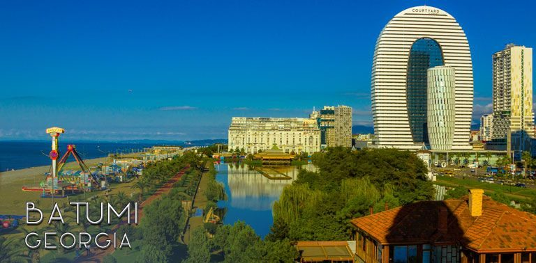 What makes Batumi in Georgia a perfect holiday destination? Short travel guide to this Georgian beach holiday hub, that is developing quickly. | FinnsAway Travel Blog
