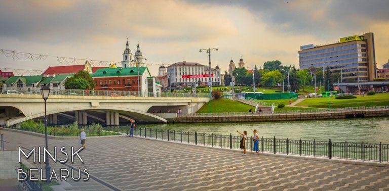 Minsk, interesting capital of Belarus