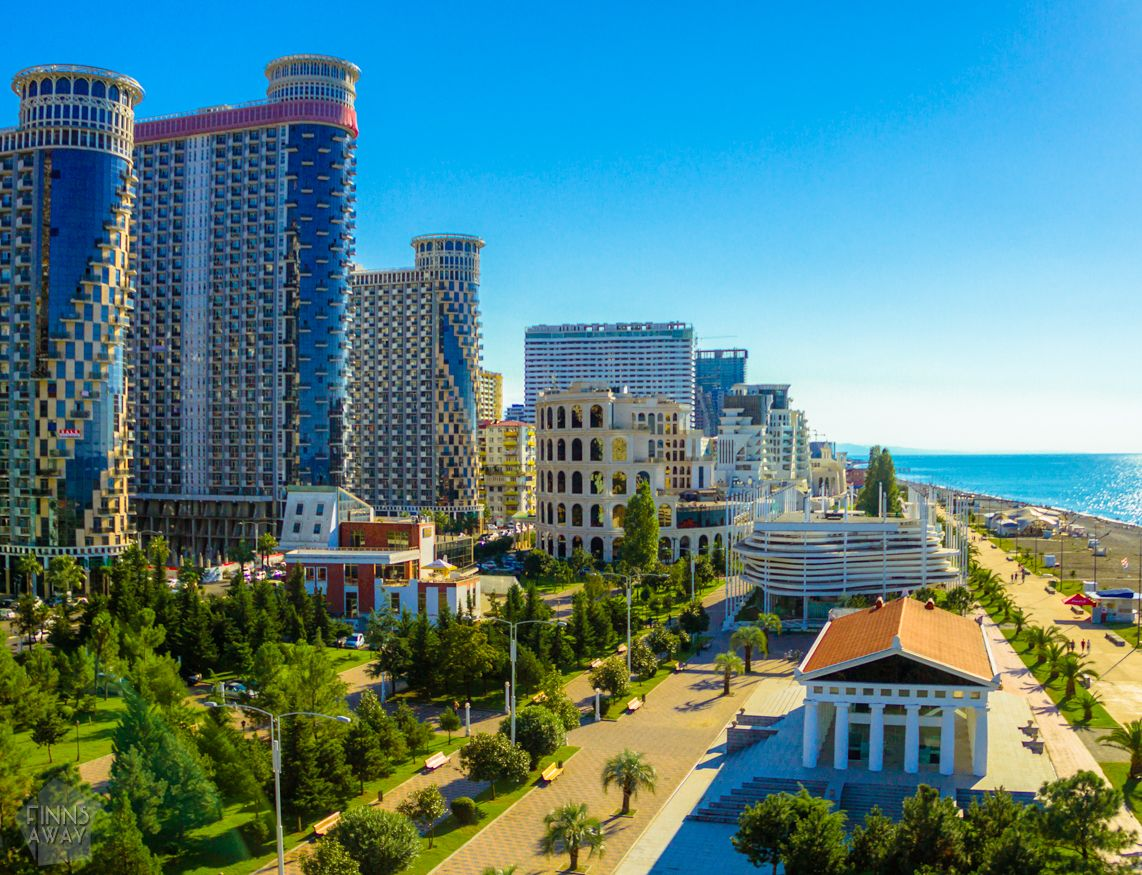 Batumi, Georgian beach holiday hub, is developing quickly. | FinnsAway Travel Blog