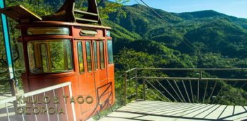 Mountainous inland Adjara in Georgia is not visited by packs of tourists, but home to beautiful nature and small rural mountain villages. We visited Khulo and took a cable car ride to tiny Tago. | FinnsAway Travel Blog