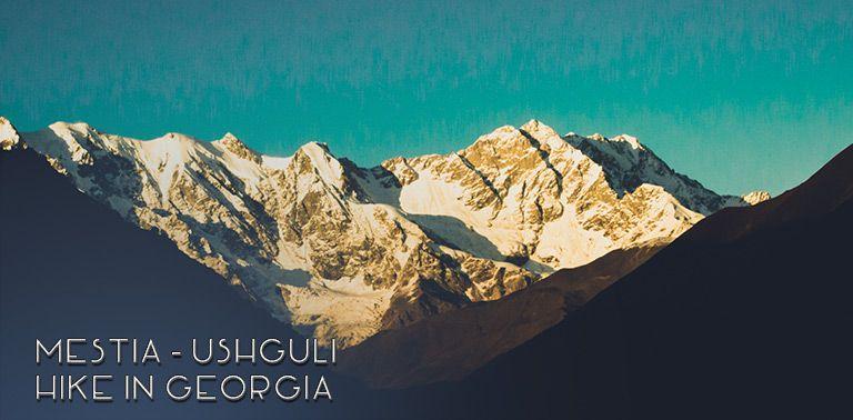 Mestia - Ushguli hike in Caucasus Mountains