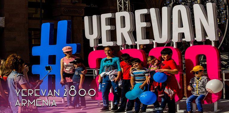 Armenia: Celebrating Yerevan 2800 years