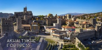 Georgia travel guides: How to visit the gorgeous Akhaltsikhe fortress and what there is to see. Destination guide to Rabati fortress with a picture gallery. | FinnsAway Travel Blog