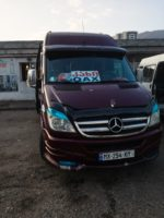 How to travel from Batumi to Shaki via Tbilisi and Qax, using night train and marshrutky (mini-buses). Crossing the border between Lagodekhi and Balakan. | FinnsAway Travel Blog