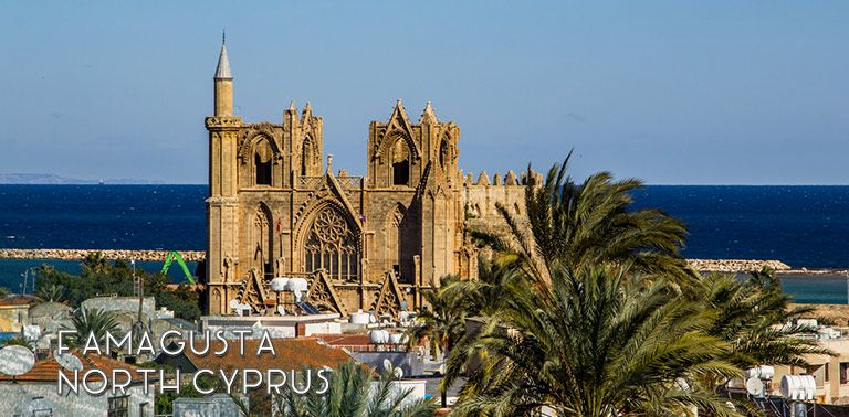 Cyprus: The walled city of Famagusta