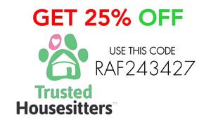 Get 25% off from Trusted-Housesitters