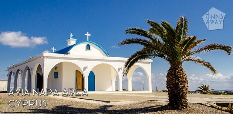 Places of interest in and around Ayia Napa resort town in Cyprus; beautiful day trip destinations, nature wonders and historical sights to visit also during the off-season | FinnsAway Travel Blog