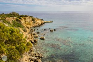 Cape Greco | Places of interest in and around Ayia Napa resort town in Cyprus; beautiful day trip destinations, nature wonders and historical sights to visit also during the off-season | FinnsAway Travel Blog