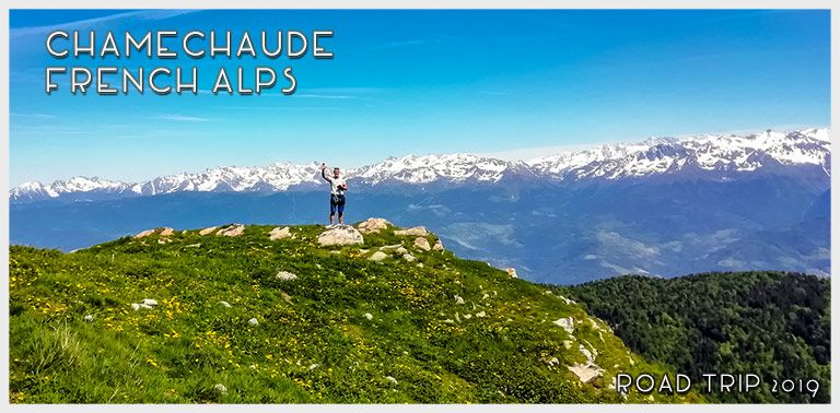 Hiking in French Alps: Chamechaude Mountain