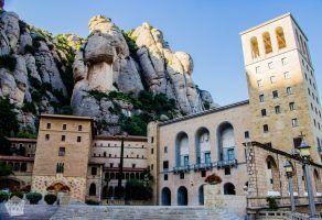 Santa Maria de Montserrat Abbey | Short guide to visiting Montserrat Monastery and Montserrat Nature Park in Catalonia, Spain | FinnsAway Nomad Travels