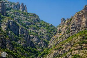 Montserrat Mountain from Aeri de Montserrat cable car station | FinnsAway Nomad Travels