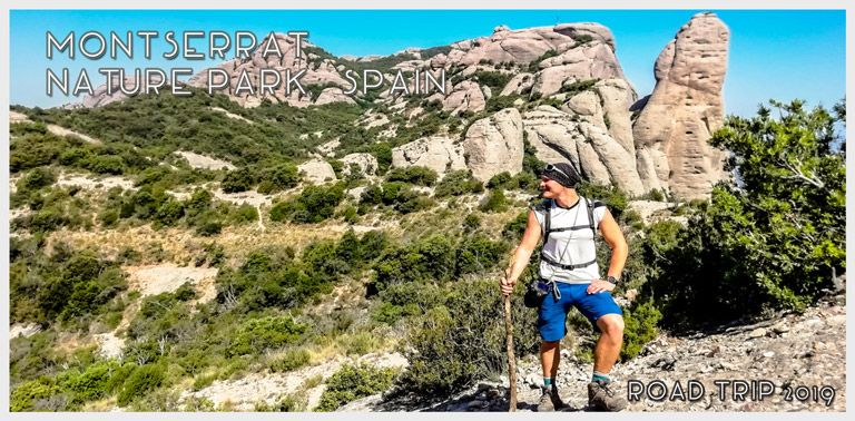 Hiking in Montserrat Mountain Nature Park, Catalonia Spain. | FinnsAway Nomad Travels