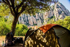 Camping Montserrat | Hiking in Montserrat Mountain Nature Park, Catalonia Spain. | FinnsAway Nomad Travels