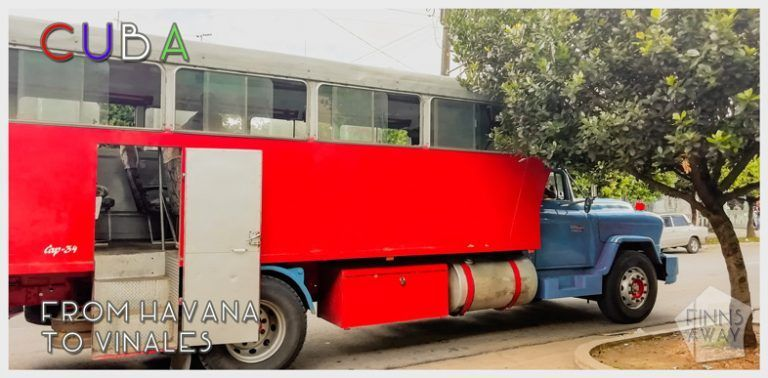 How to travel between Viñales and Havana using local transportation | FinnsAway travel blog