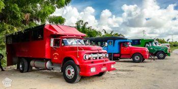 Public transportation in Cuba, camiones | FinnsAway Travel Blog