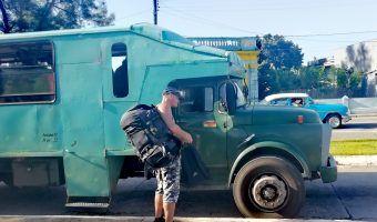 Cuba Transportation | Camion in Matanzas | FinnsAway travel blog