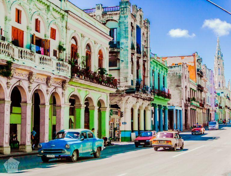 Streets of Havana Centro | Pictures from Havana | FinnsAway Travel Blog