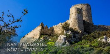Sights in Cyprus: Kantara Castle