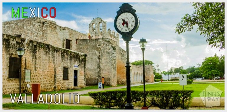 Travel guide to charming Valladolid in Yucatan, Mexico | FinnsAway Travel Blog