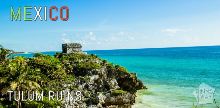 Mayan ruins of Tulum in Riviera Maya, Yucatan Peninsula, Mexico in October | FinnsAway Travel Blog