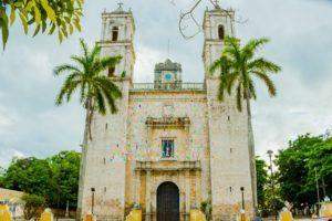 Parroquia De San Servacio church | Charming Valladolid in Yucatan, Mexico | FinnsAway Travel Blog