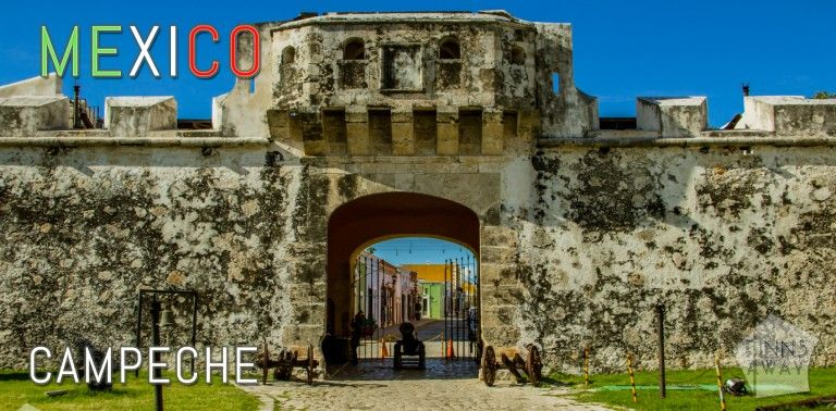 Campeche is famous for a walled historical center with beautiful colonial architecture | FinnsAway Travel Blog