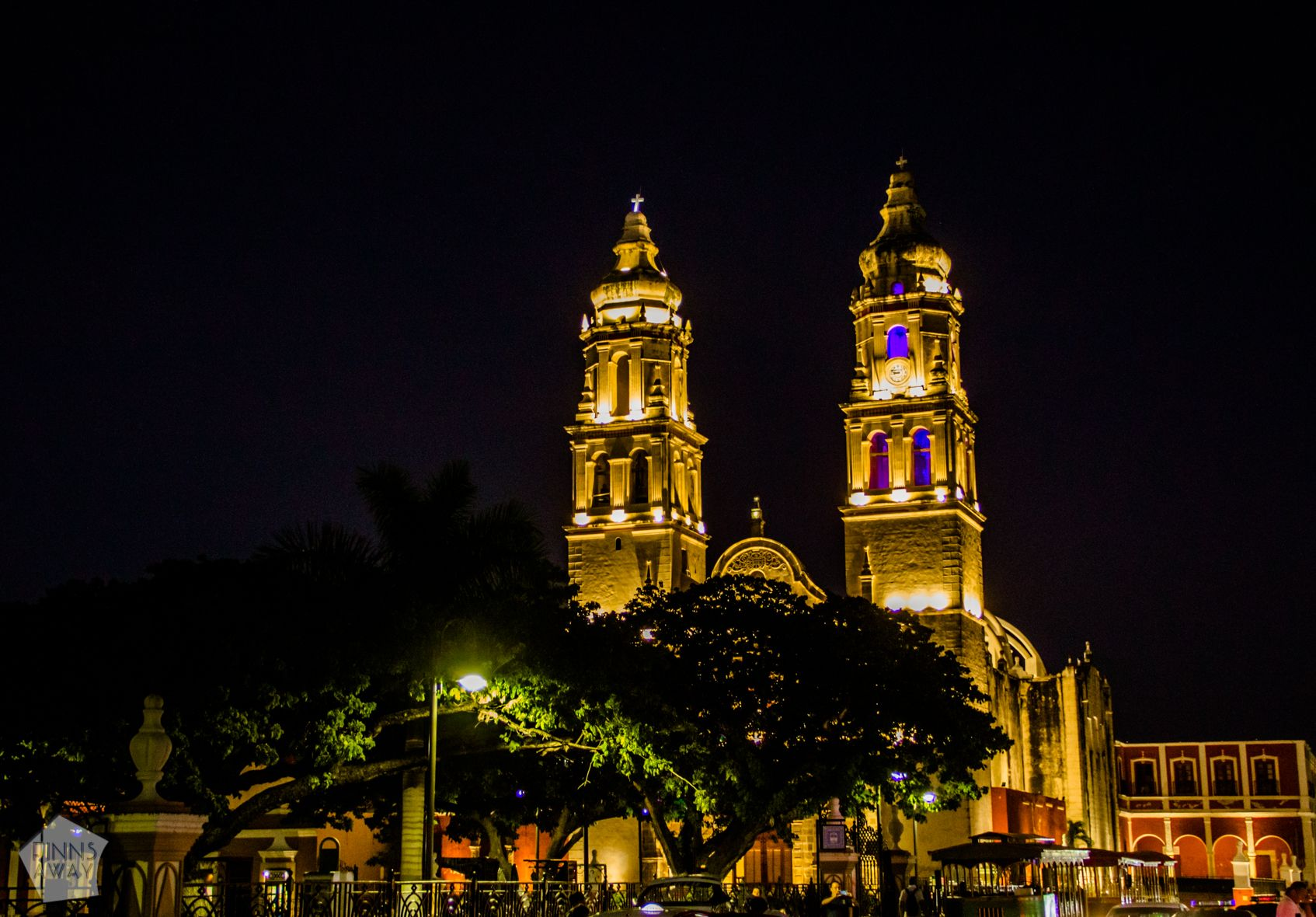 Campeche Cathedral | Campeche in Yucatan Peninsula, Mexico, is famous for a walled historical center with colonial architecture | FinnsAway Travel Blog