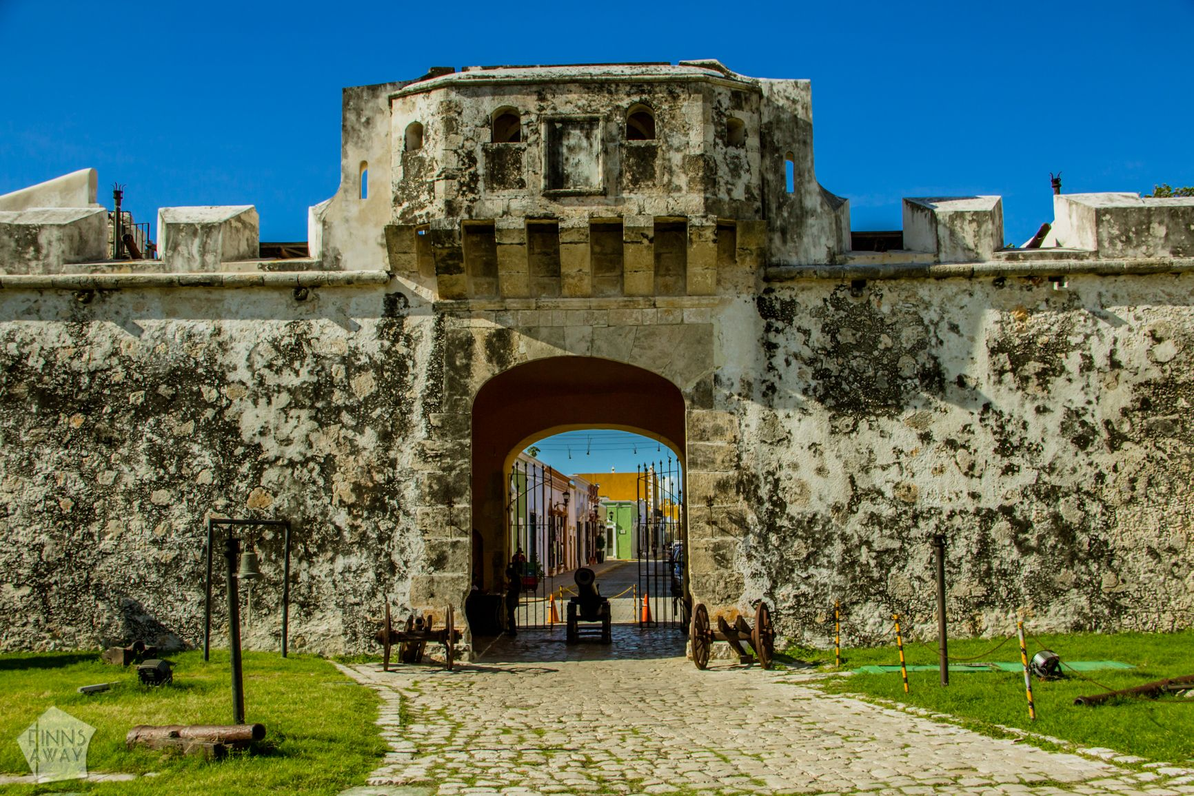 Puerta de Tierra Campeche in Yucatan Peninsula, Mexico, is famous for a walled historical center with colonial architecture | FinnsAway Travel Blog