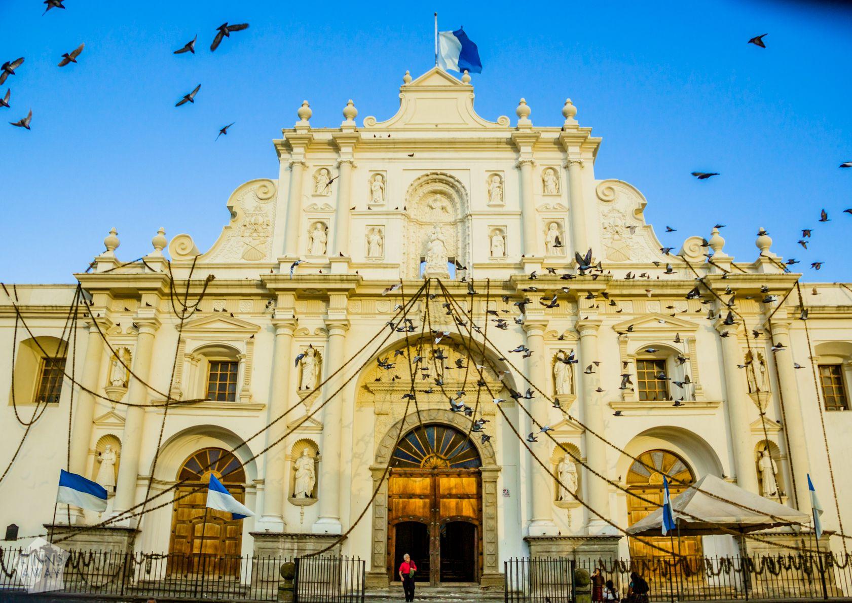 Antigua Guatemala Cathedral   Introduction to historical Antigua Guatemala   FinnsAway Travel Blog