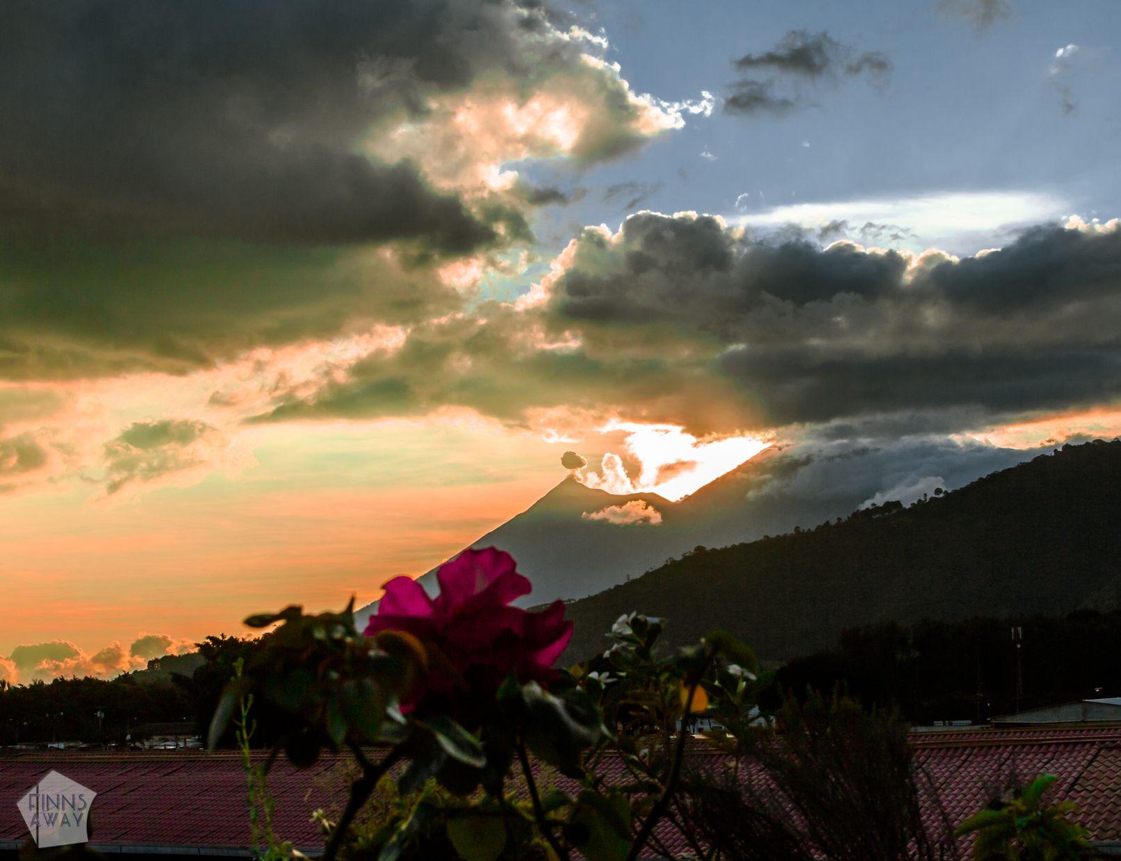 Volcano views   Introduction to historical Antigua Guatemala   FinnsAway Travel Blog