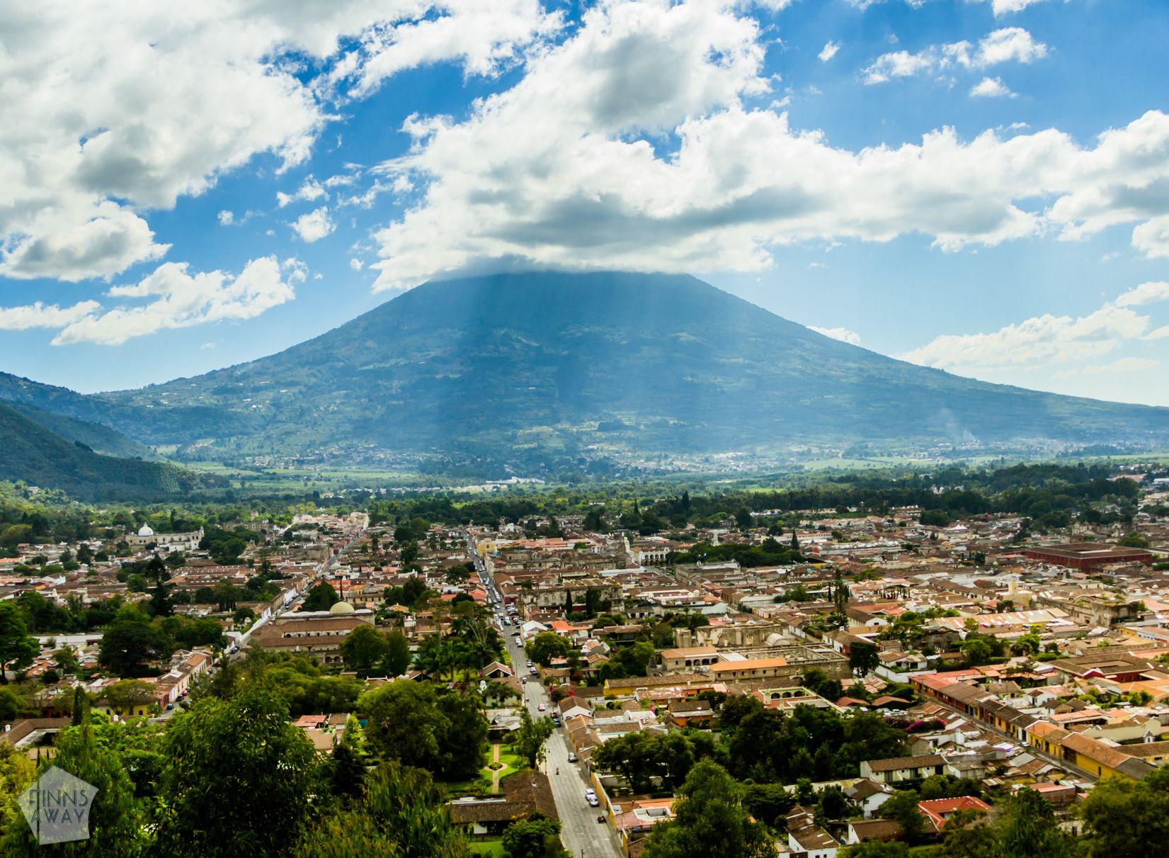 Mirador del Cerro de la Cruz | Introduction to historical Antigua Guatemala | FinnsAway Travel Blog
