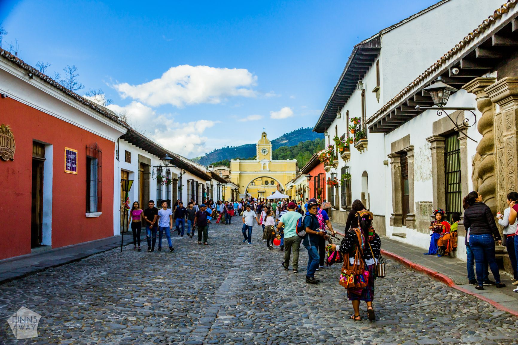 5a Avenida Norte   Introduction to historical Antigua Guatemala   FinnsAway Travel Blog