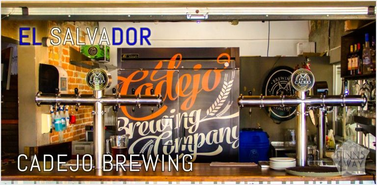 Visiting Cadejo Brewing Company in San Salvador, El Salvador | FinnsAway blog