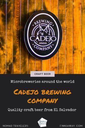 Cadejo Brewing Company   Quality craft beer from San Salvador, El Salvador   FinnsAway blog