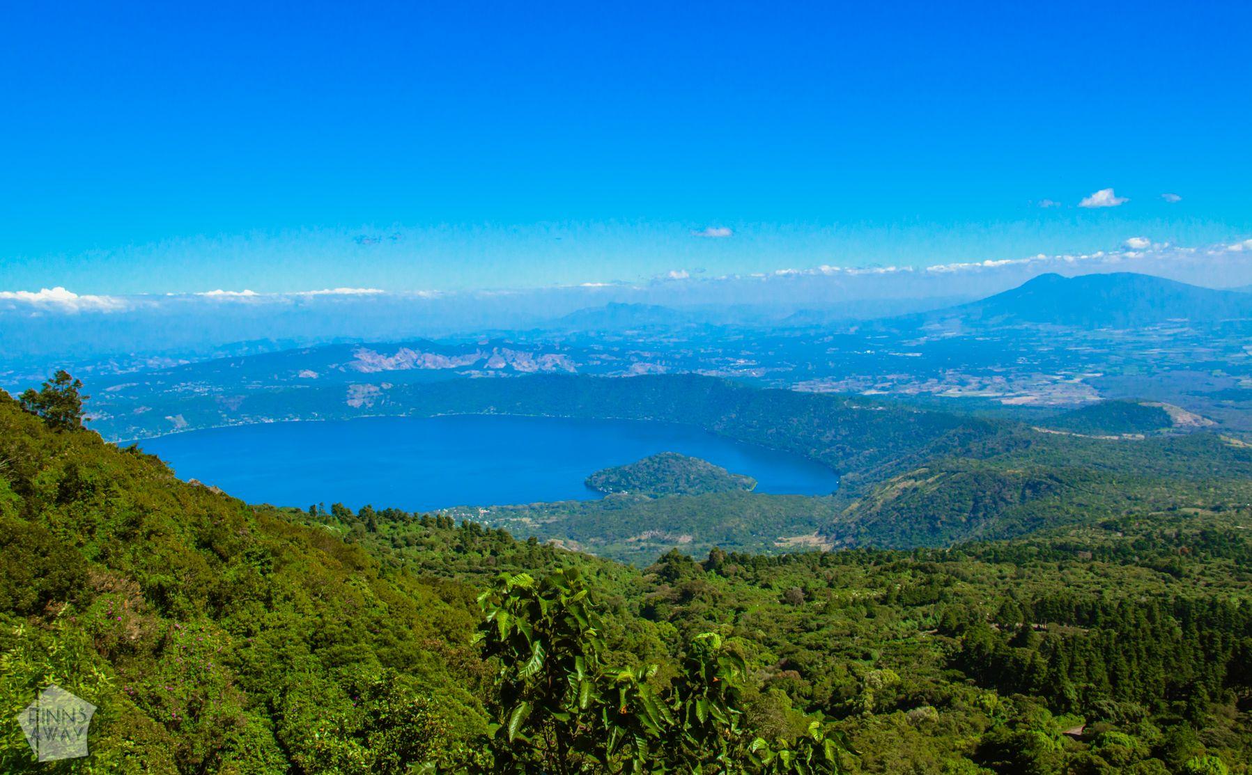 Coatepeque Lake | Hiking Santa Ana Volcano in El Salvador | FinnsAway Travel Blog