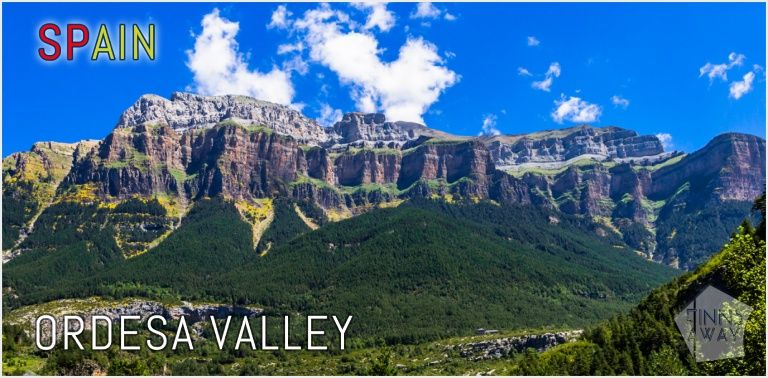 Hiking and camping in Ordesa Valley, Spain