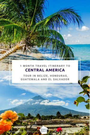 Itinerary for traveling in Belize, Honduras, Guatemala and El Salvador | FinnsAway Travel Blog