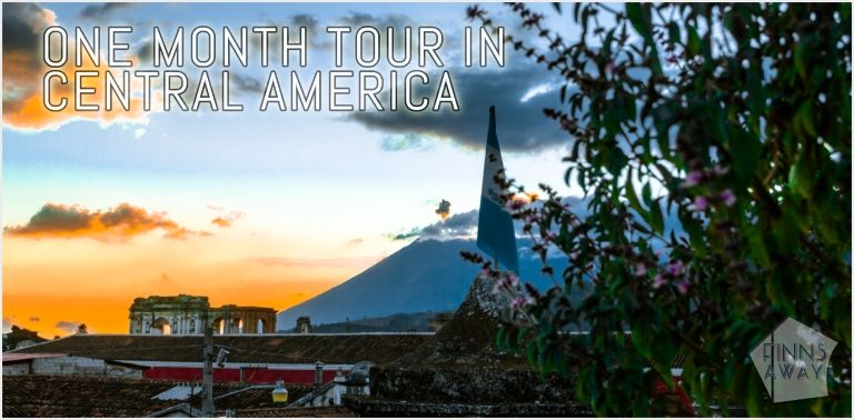 Exploring Central America – one month tour