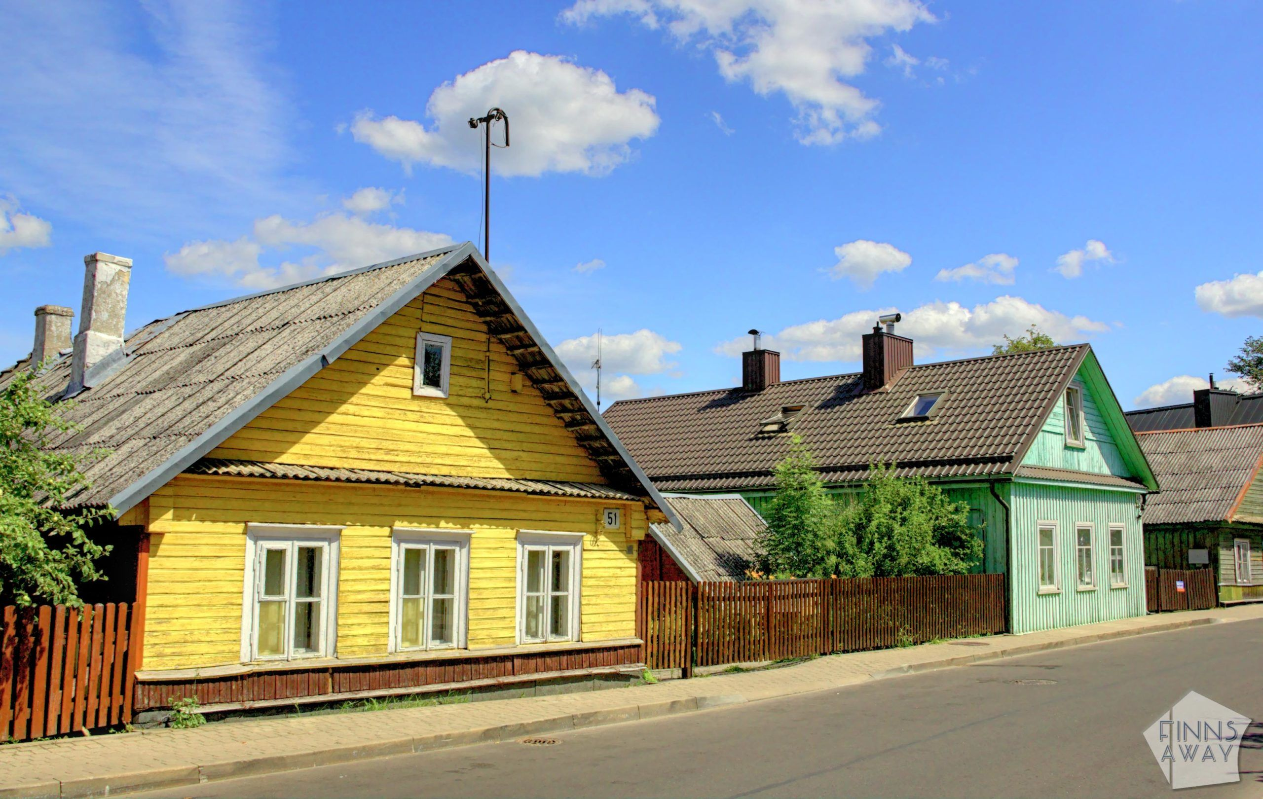 Wooden Karaim houses | Trakai in Lithuania – castles, Karaim culture and nature | FinnsAway Travel Blog