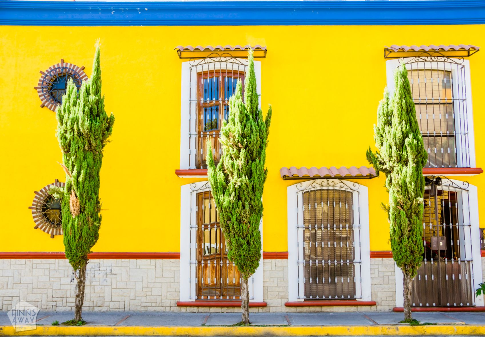 Beautiful house in Cholula | Mexico: Colonial city of Puebla and neighboring Cholula | FinnsAway Travel Blog