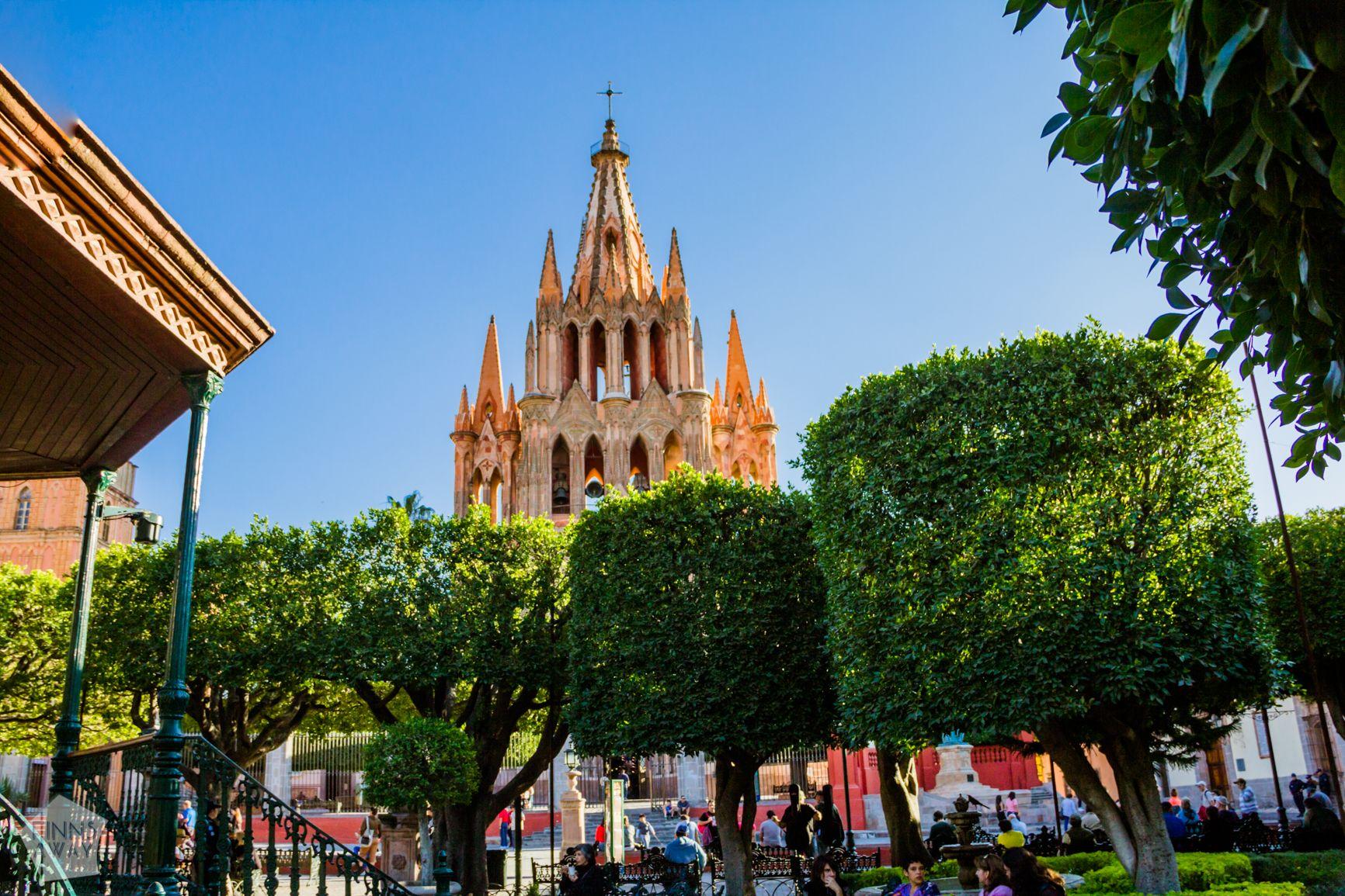 Jardín Allende, San Miguel de Allende | FinnsAway Travel Blog
