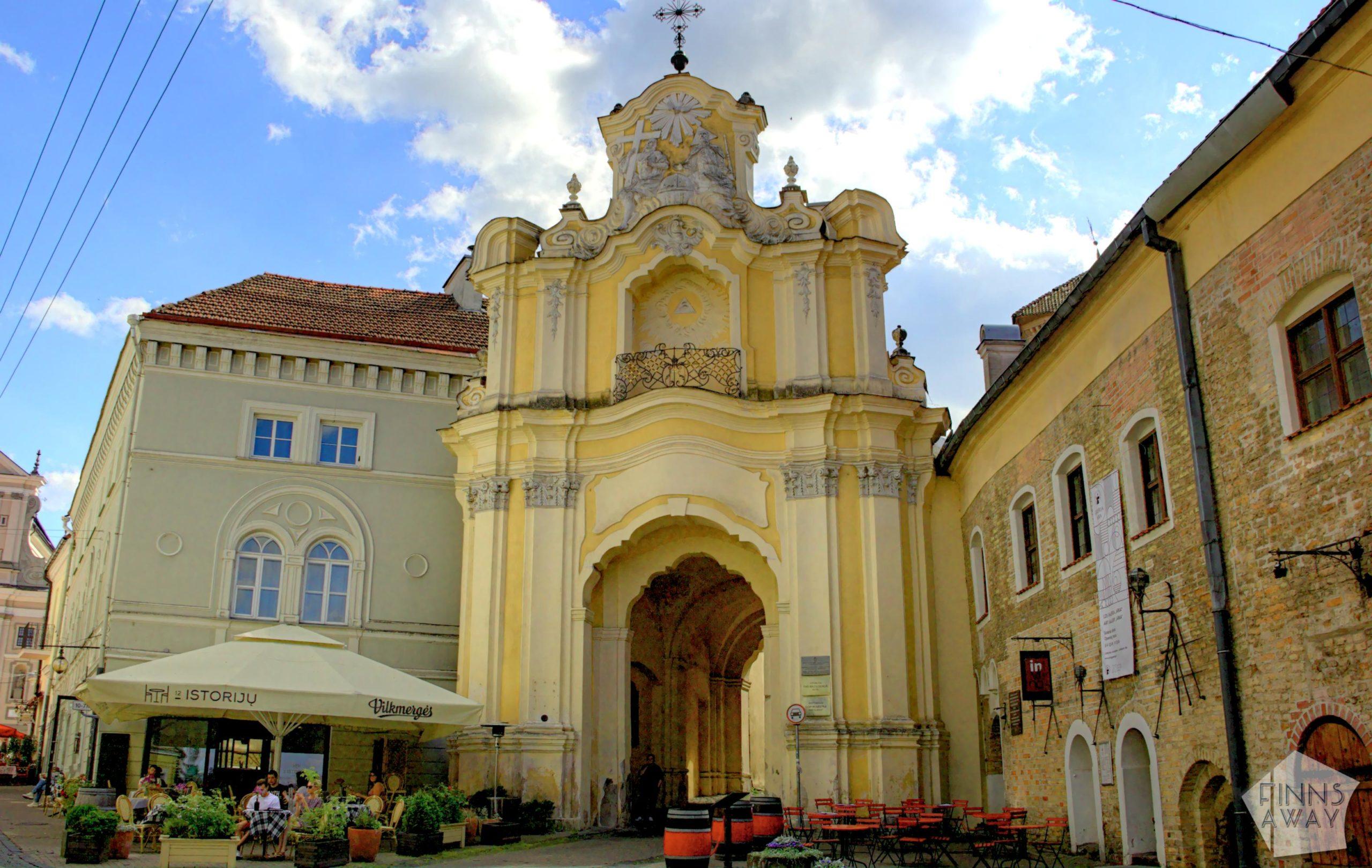 Basilian Gate, the Monastery and Church of the Holy Trinity | FinnsAway Travel Blog