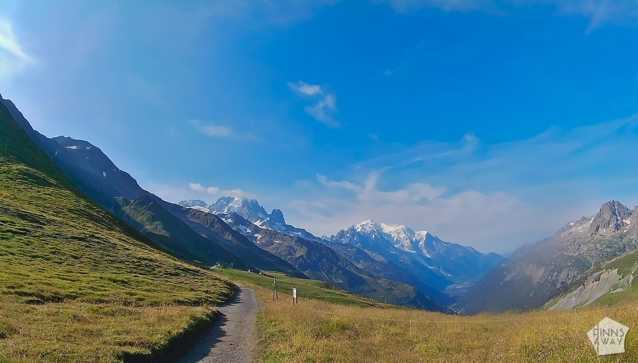 Hiking and camping Tour du Mont Blanc mountain trail in the Alps | FinnsAway travel blog