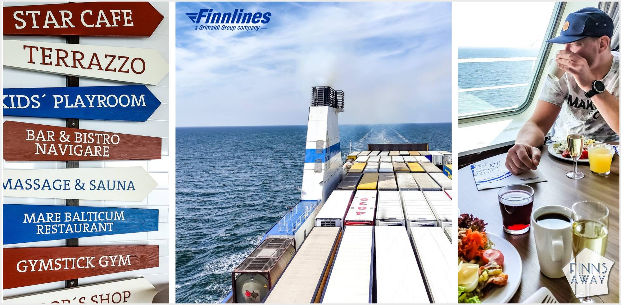 Crossing the Baltic Sea with Finnlines from Travemünde in Germany to Helsinki in Finland | FinnsAway Travel Blog