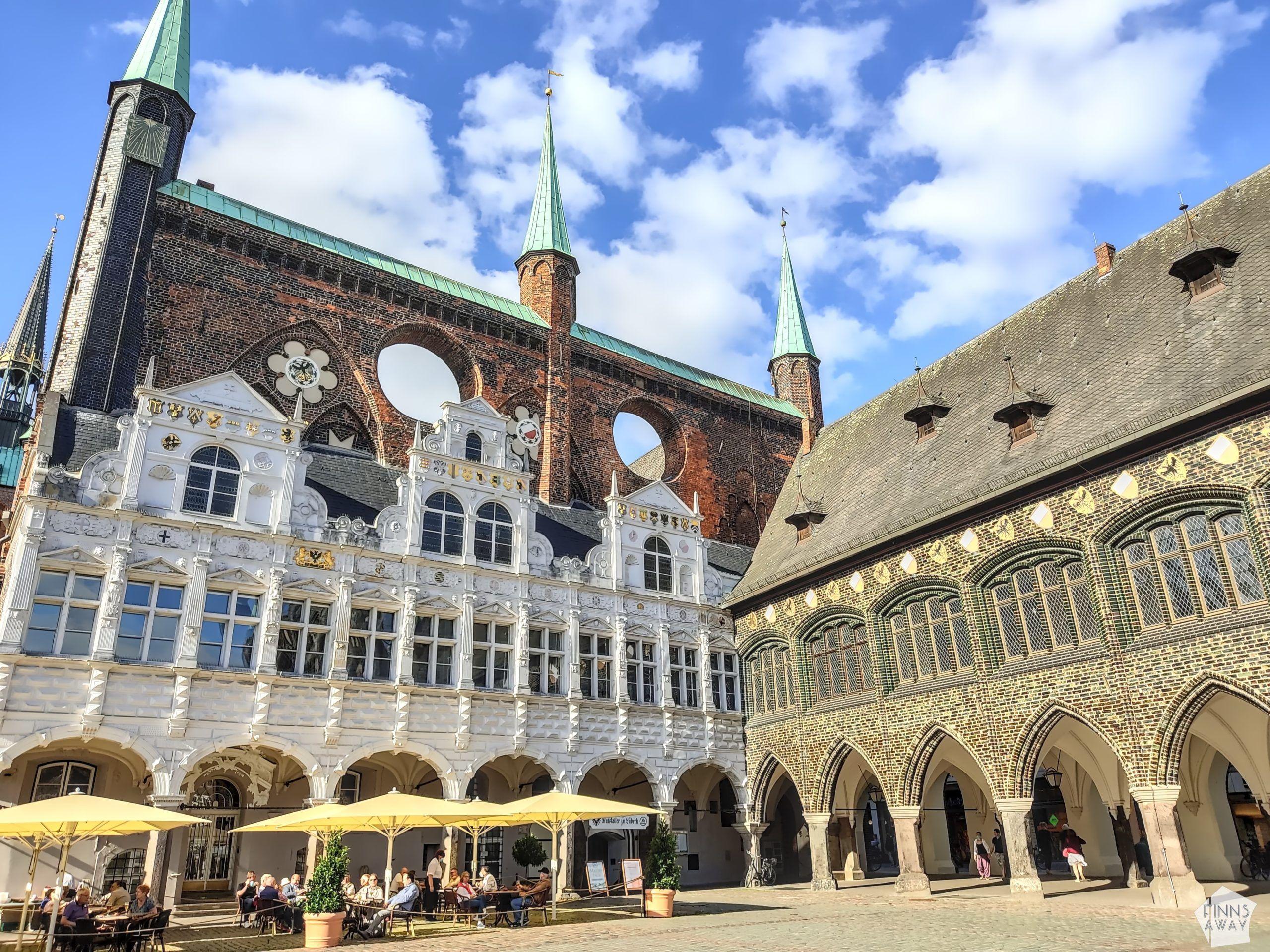 Lübecker Rathaus, Town Hall   Postcards from Lübeck, Germany   FinnsAway Travel Blog