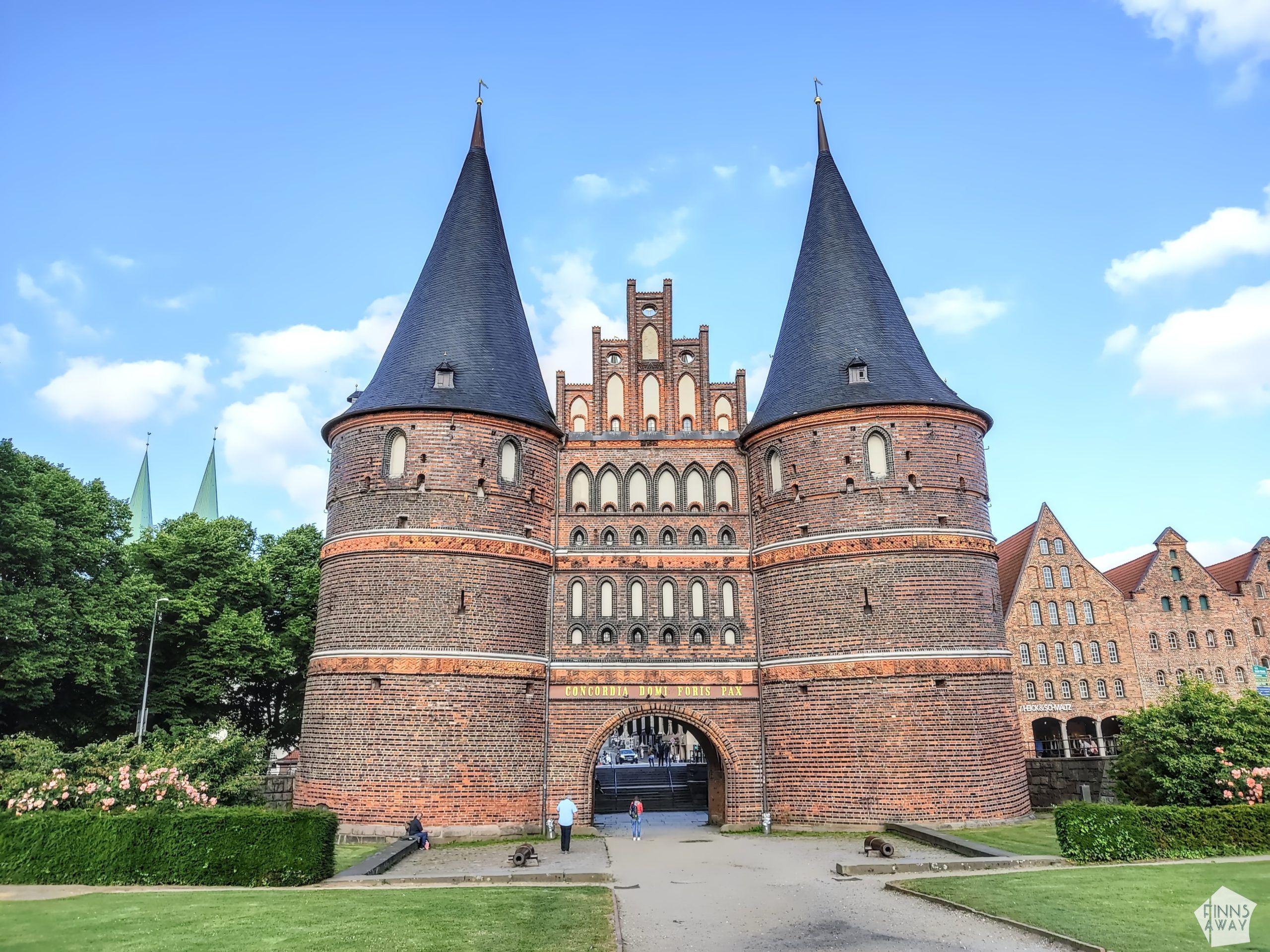 Holstentor gate   Postcards from Lübeck, Germany   FinnsAway Travel Blog